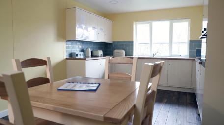 Ty Coryton - kitchen area