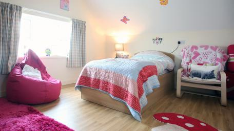 Orbis Care - The old vicarage adult bedroom space